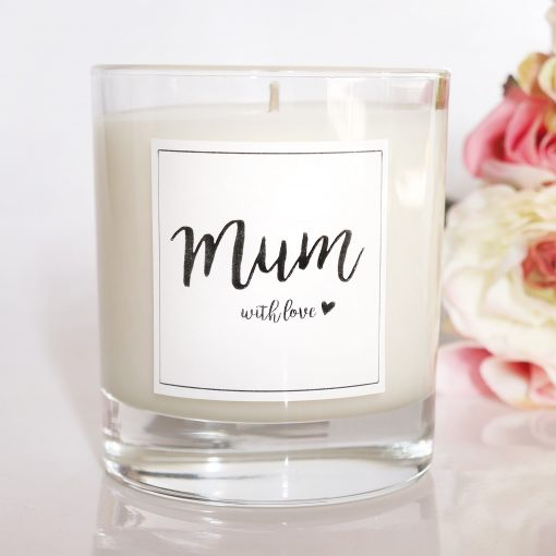 Beautiful luxury scented candle for mum.