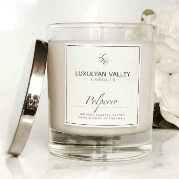 polperro cornwall scented candle